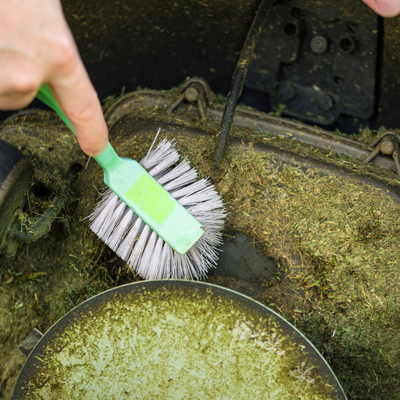 The first step in lawn care equipment winterization is cleaning your tools here in Claymont, DE.