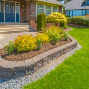 mulch curb appeal